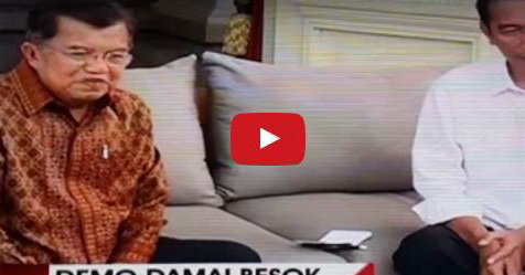 VIDEO: Terkait Keberadaan Presiden Saat Aksi Damai 4 November, Begini Jawaban Jokowi