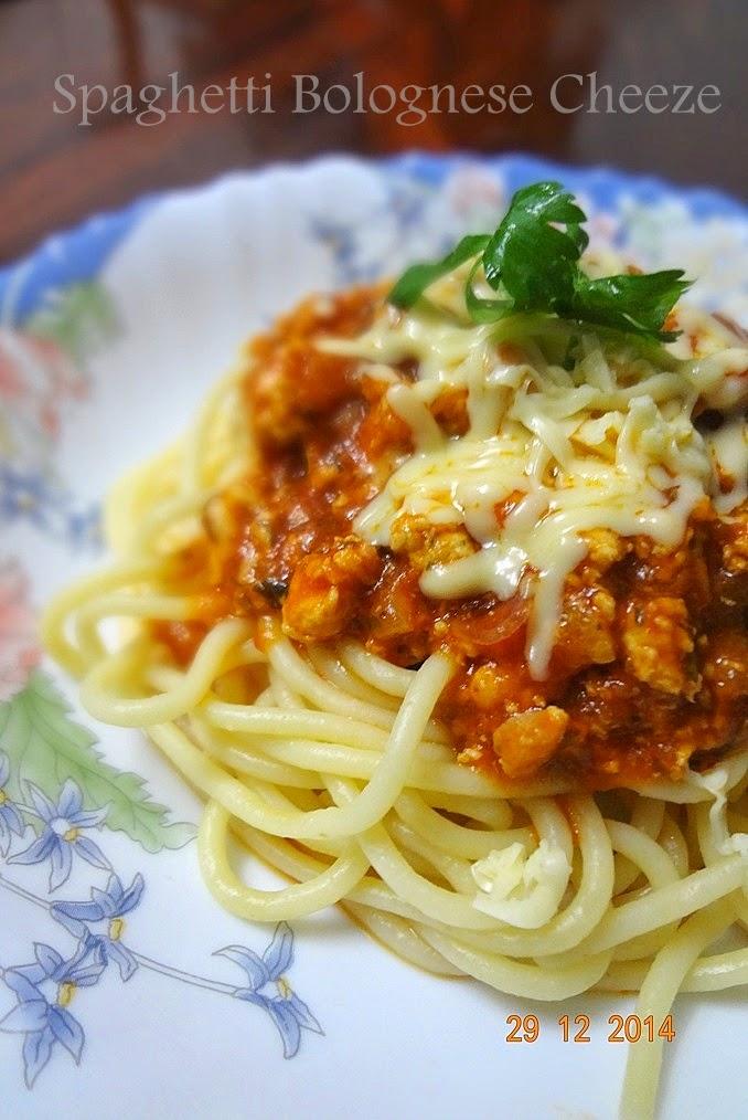 Dari Dapur Rin Simply Sweet Cheezy Resepi Spaghetti Bolognese