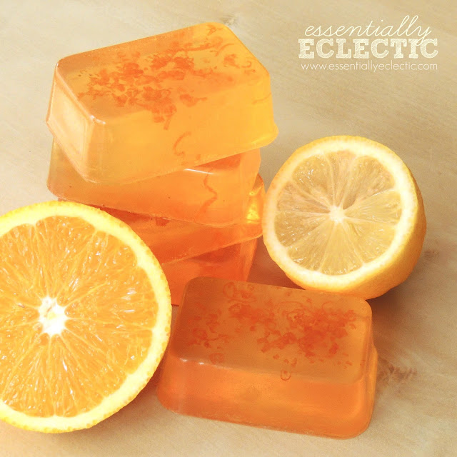 Thai Tea Melt And Pour Bars Tutorial: 55+ Things To Make With Oranges-Roundup With Photos