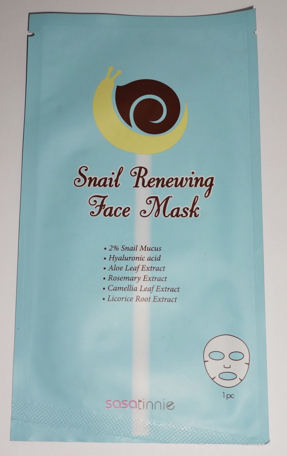 Sasatinnie - Snail Renewing Face Mask