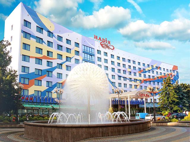 Івано-Франківськ Готель НАДІЯ Ивано-Франковск отель НАДИЯ