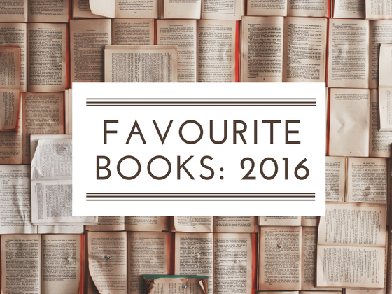 Favourite books read in 2016