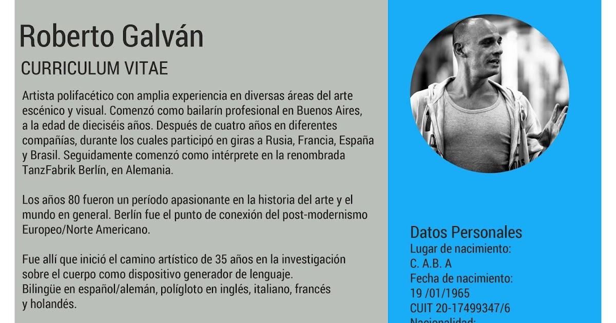 Roberto Galvan Arte Curriculum Vitae