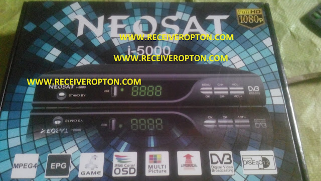NEOSAT I-5000 HD RECEIVER DUMP FILE