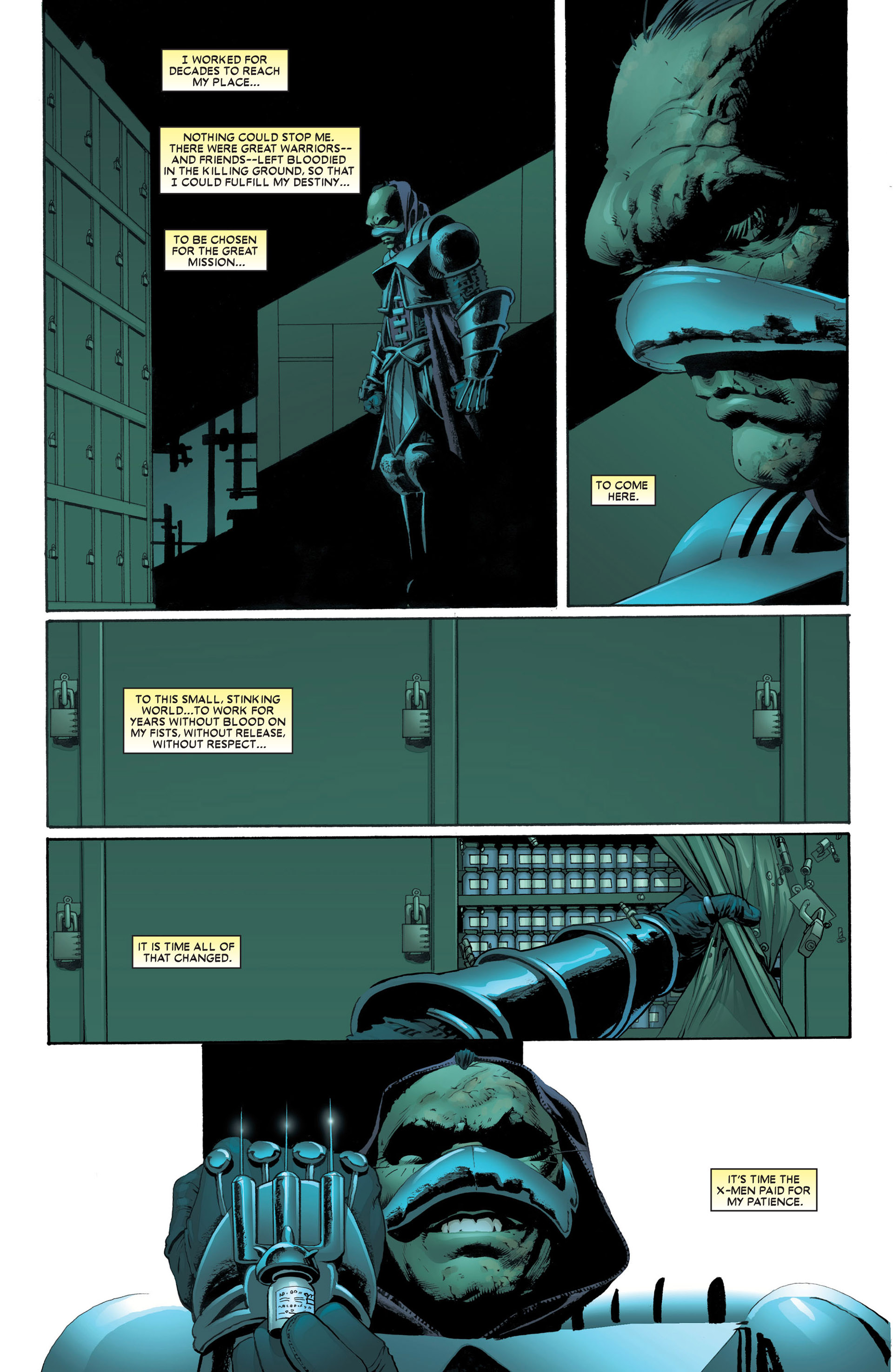 Read online Astonishing X-Men (2004) comic -  Issue #4 - 3