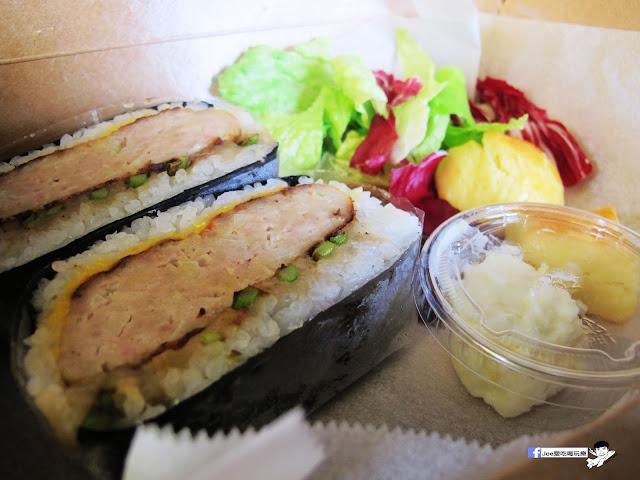 IMG 0456 - 隱藏在教師新村裡的 大小食事│客製化精緻餐盒,漢堡排川飯糰很推薦