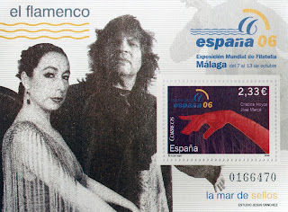 EXPOSICIÓN MUNDIAL DE FILATELIA, EL FLAMENCO