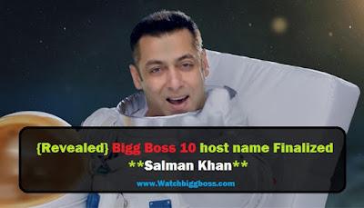 Bigg Boss 10 host name Finalized | Salman Khan