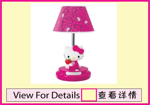 Table lamp with cfl bulb