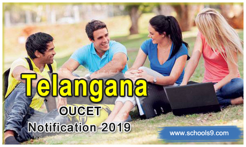 TS OUCET Notification 2019