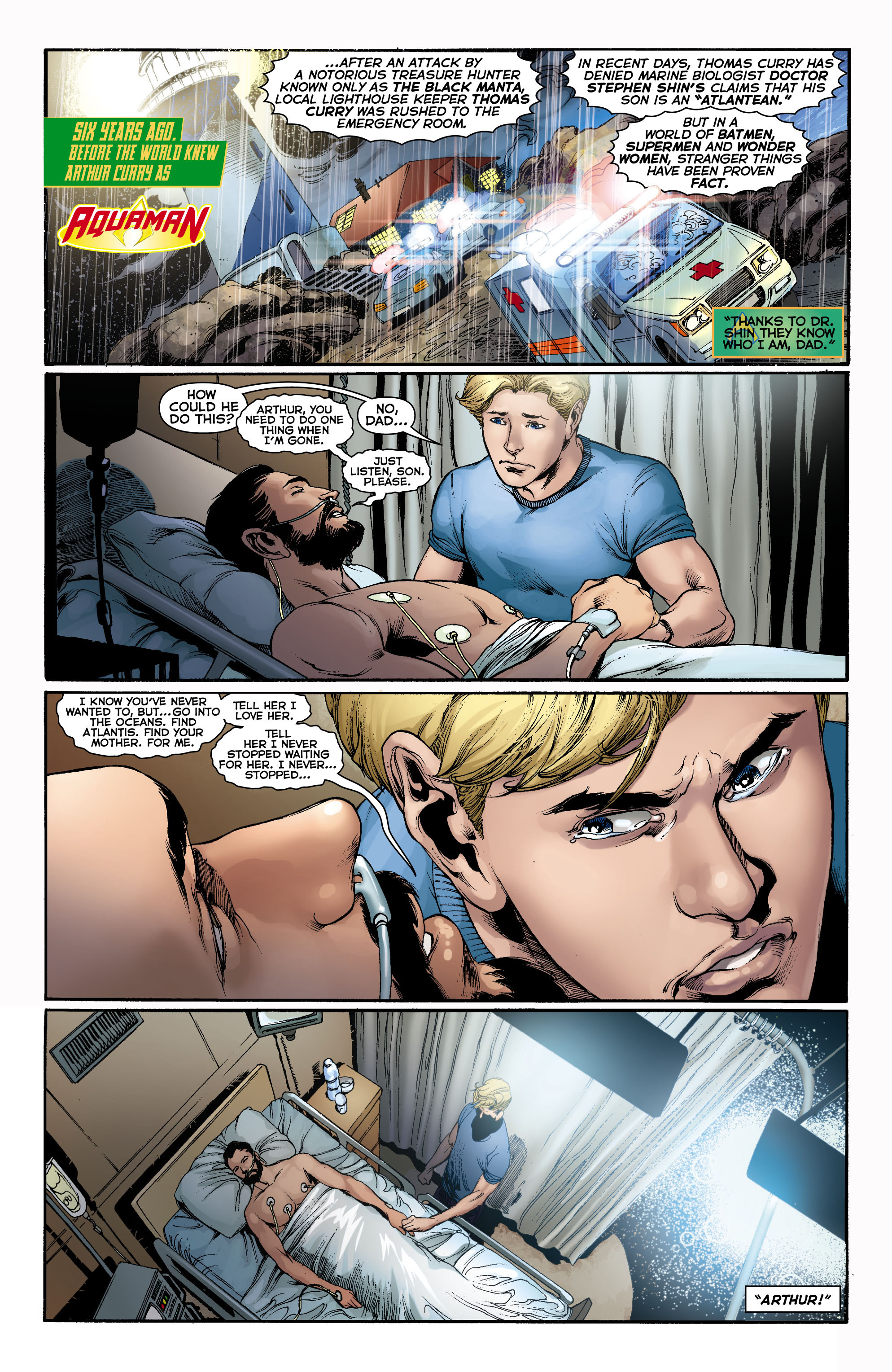 Read online Aquaman (2011) comic -  Issue #0 - 2
