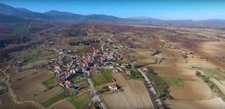 Όμορφη εναέρια λήψη από την Κερασιά Κοζάνης (Bίντεο)