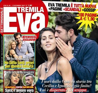 Eva Tremila: 70° anniversario con Cecilia Rodriguez e Ignazio Moser | Gossip