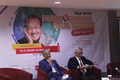 Tun Dr Mahathir di Jakarta