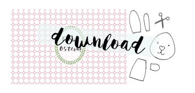 Download kostenlose Vorlage für Hasen