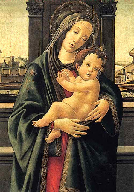 Botticelli's 'Madonna and Child.' Photo: Courtesy of the Stibbert Museum. Unauthorized use is prohibited.
