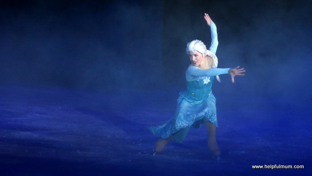 Elsa Disney on Ice