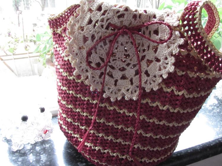 Patron Crochet Bolsa Oraculo