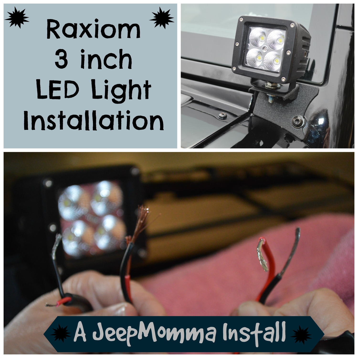 Jeep Wiring Time Enthusiast Diagrams Cj Harness Momma Blog Part 2 Take My Led Lights In Rh Jeepmomma Com Cherokee Stereo