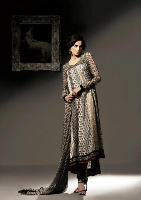 Latest Women Khaadi Khaas Winter Dresses 2012