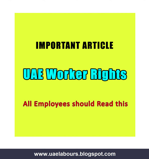 comprise unopen to really Important as well as useful Rules such equally UAE Labour Law Key Provisions (Employment Law)