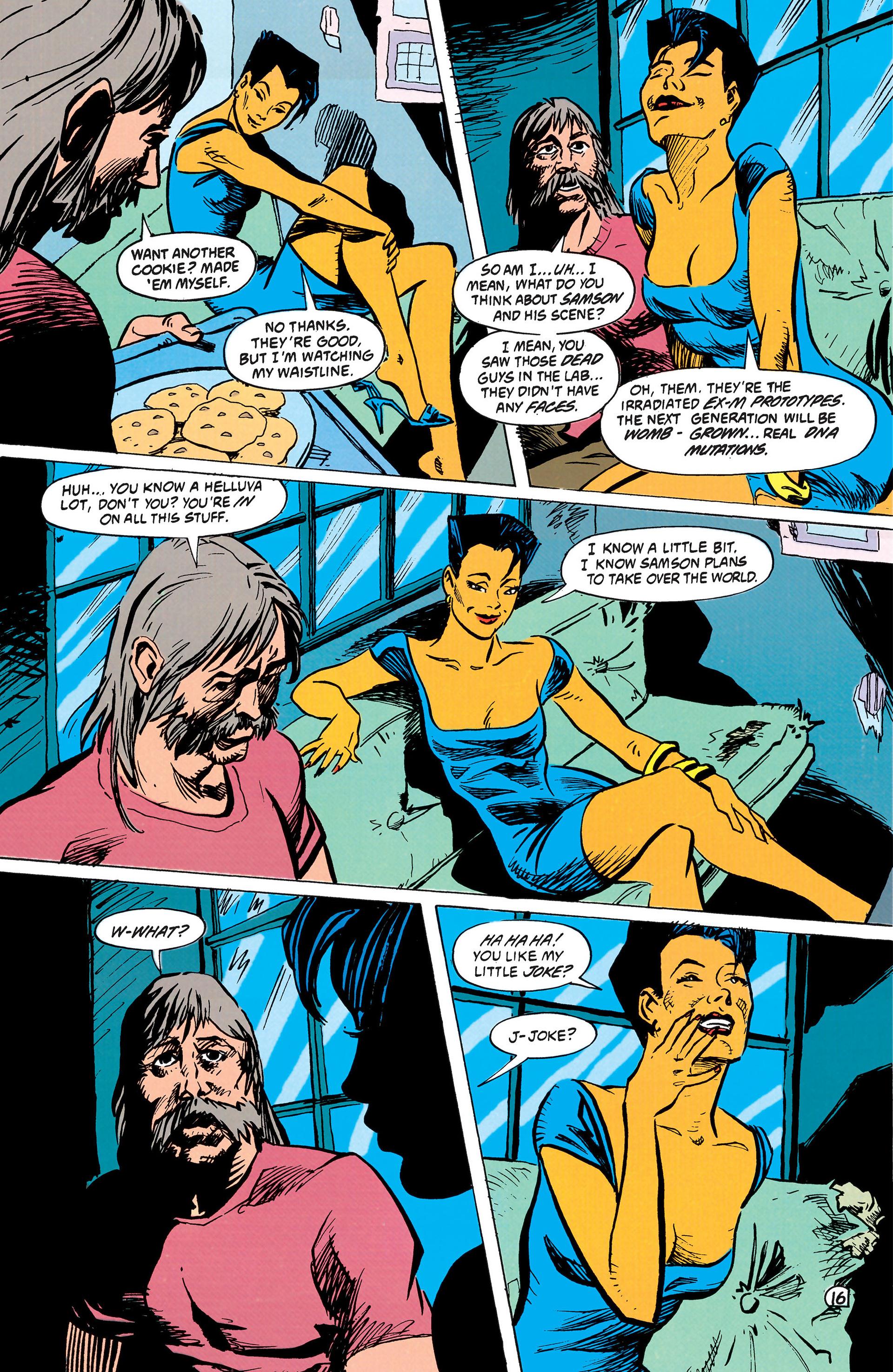 Read online Animal Man (1988) comic -  Issue #42 - 17