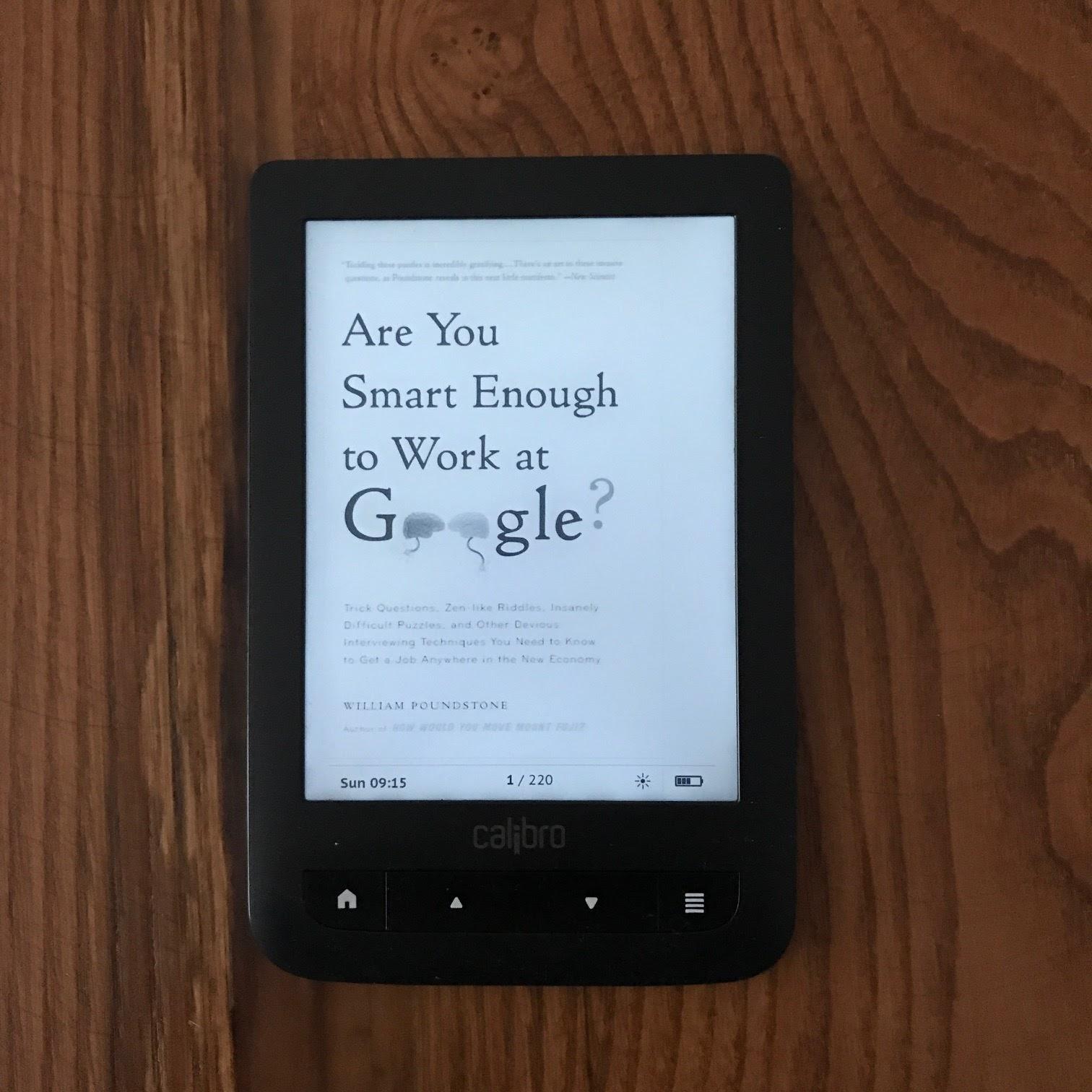 Google'da Calisabilecek Kadar Akilli Misiniz? (Are You Smart Enough to Work at Google?) (Kitap)