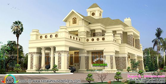 506 sq-yd luxury colonial house