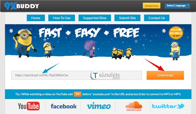 Kunjungi Situs Downloader 9xbuddy