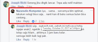 Absen Online susah diakses... tidak perlu panik, ini penjelasan Bp. Nazaruddin