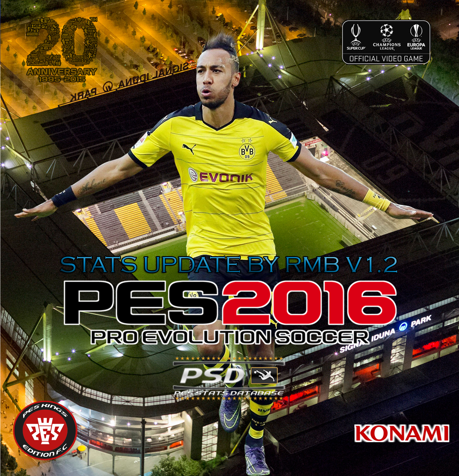 Pes Stats Database: PES-MODIF: PES 2016 PSD Stats For PTE 4.1 (V1.2) By RMB