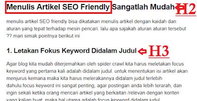 cara menulis artikel seo friendly