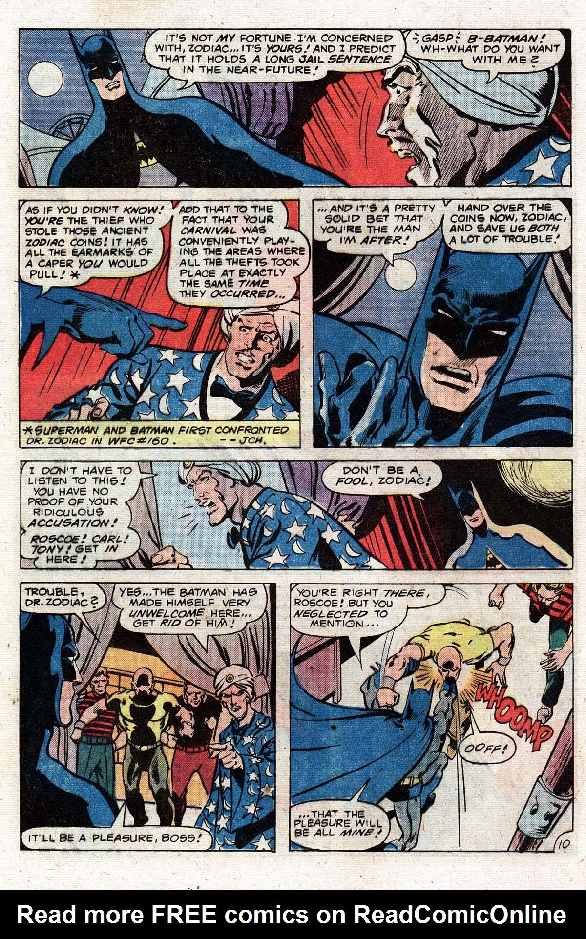 Read online World's Finest Comics comic -  Issue #268 - 12