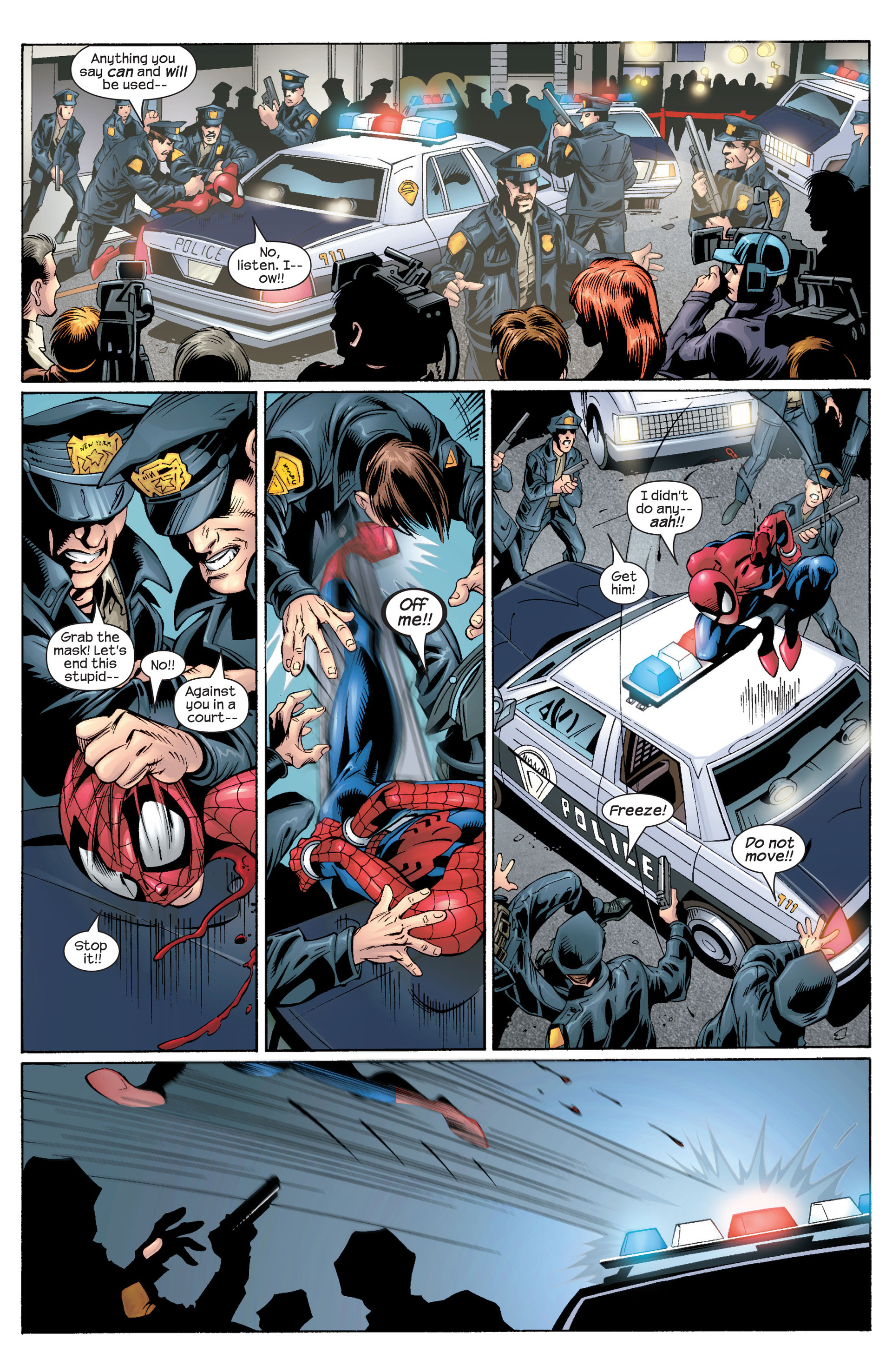 Read online Ultimate Spider-Man (2000) comic -  Issue #30 - 4