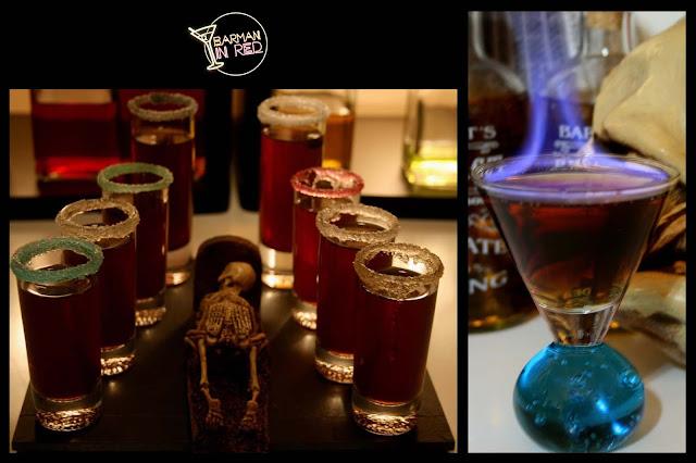 shots fire drinks