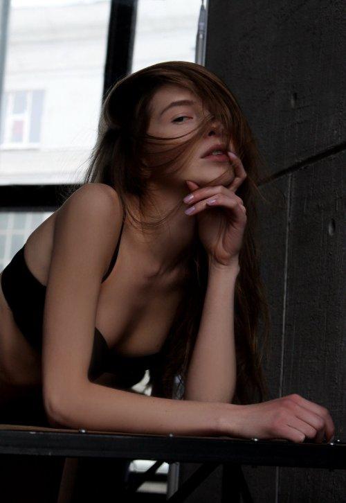 Maksim Subbotin 500px fotografia mulheres modelos russas beleza preto e branco luz