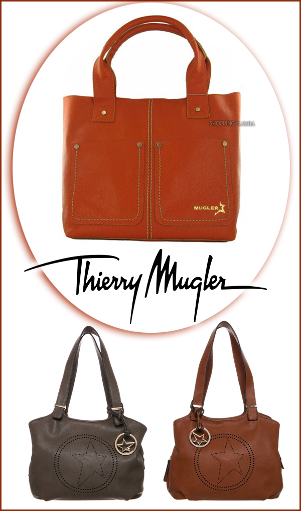 Sac Shopping THIERRY MUGLER Dolly Orange !