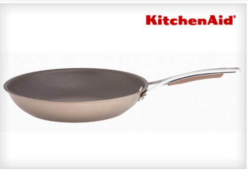 KitchenAid Hard Anodized Non-Stick Skillet $16.99 ($119.99 Value)