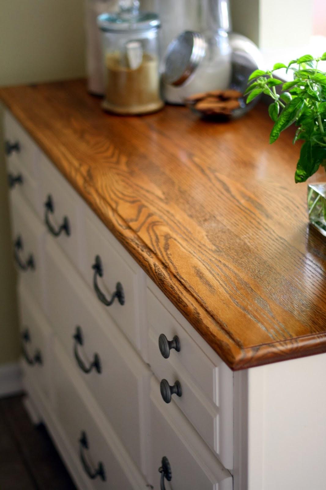 The Semi Frugal Life Diy Dresser Turned Kitchen Cabinet