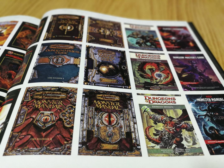 Art & Arcana - Guía de Dungeons & Dragons - tomos básicos evolución 2
