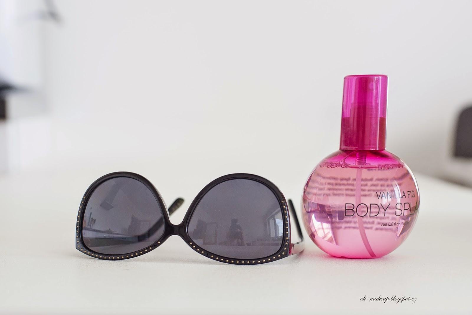 body splash, hm, pink, sun glass, summer
