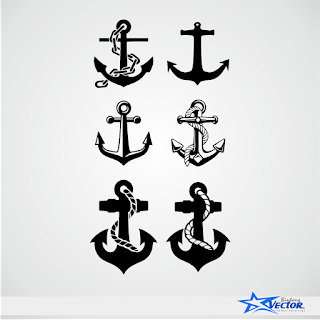Anchor Logo Vector cdr Download