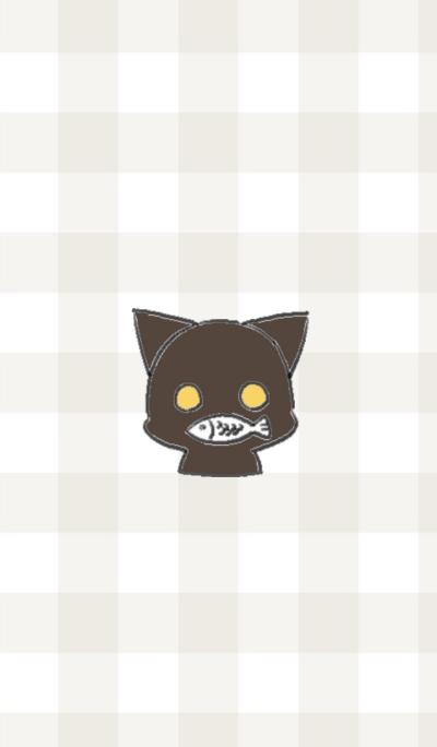 black playful kitten's theme