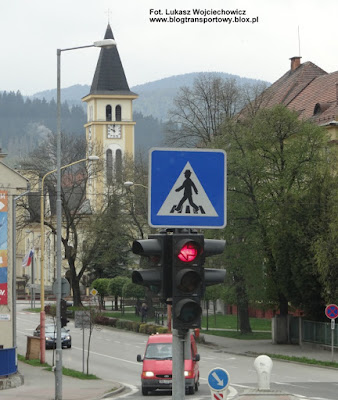 Znak IP 6 priechod pre chodcov, Słowacja