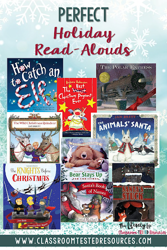 The holidays are a great time for read alouds. Make the most of your days with read alouds.