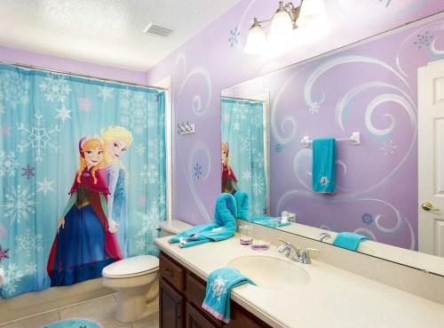 Frozen bathroom