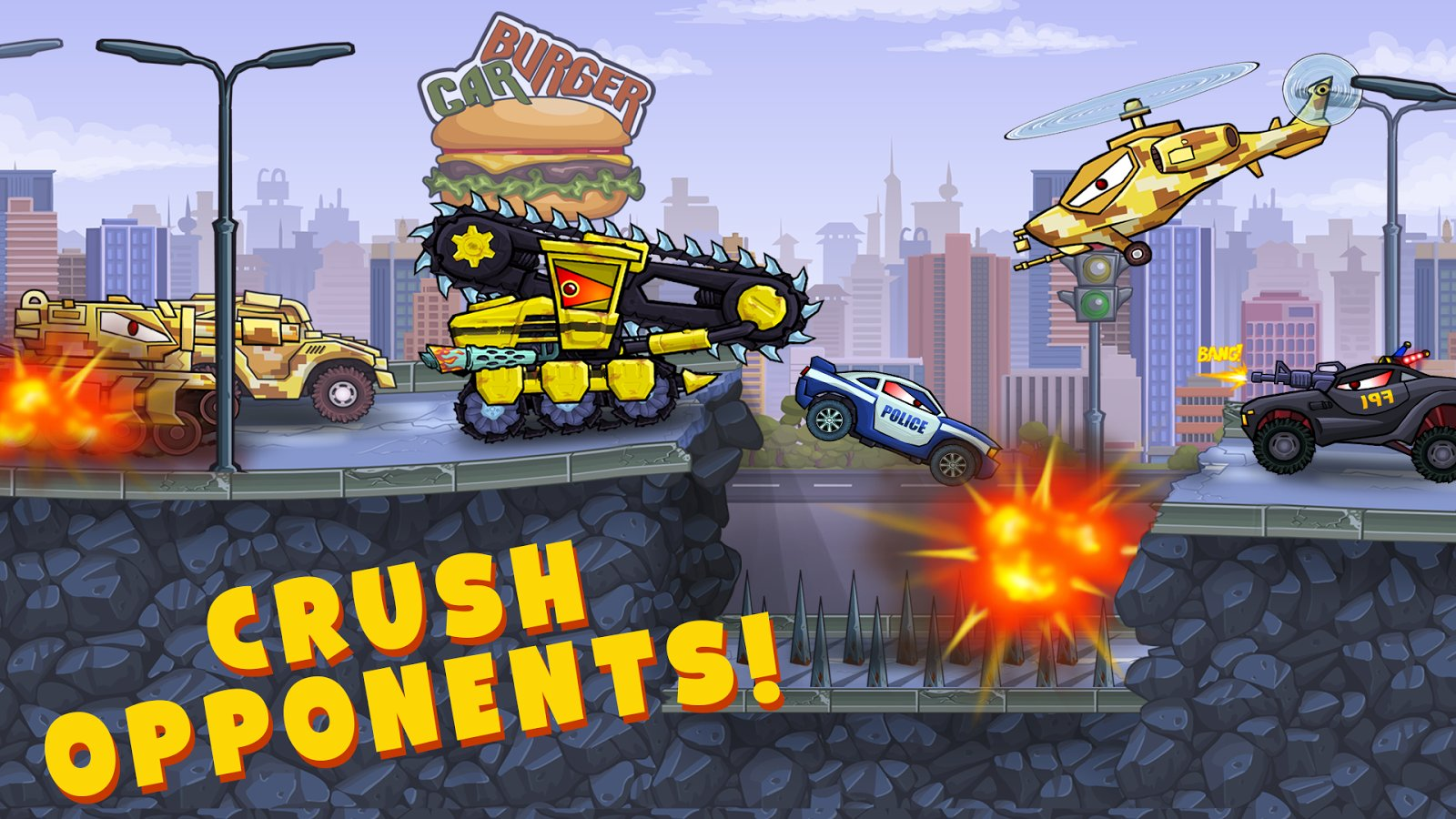 Car Eats Car 3 Apk Mod All Unlocked Download Myappsmall Provide Online Download Android Apk And Games
