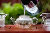 Oplachování čaje