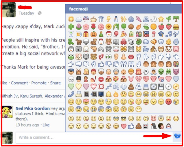How To Add Emojis On Facebook
