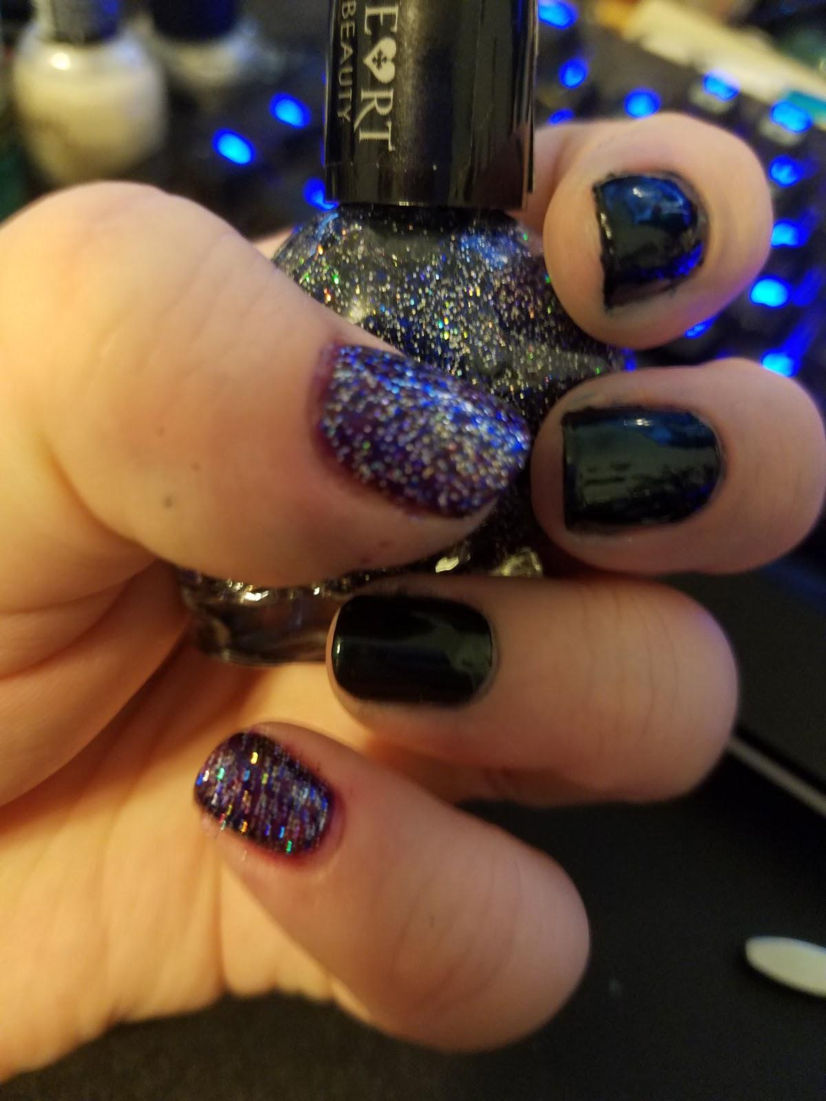 Nail Art Fail Art: Nail Polish Review: Formula X Huntress ...